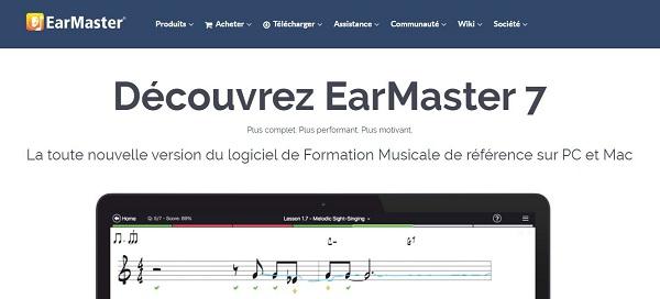 Améliorez vore oreille musciale avec Earmaster