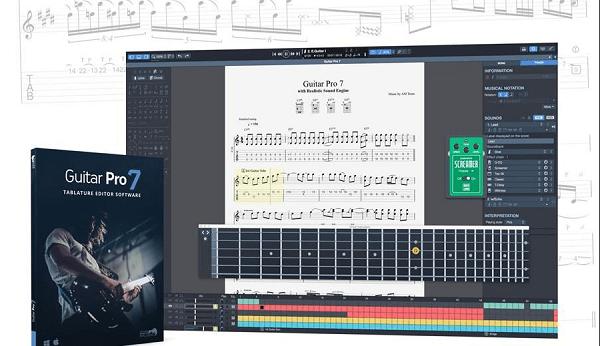 Les fonctionnalités innovatrices du logiciel Guitar Pro 7