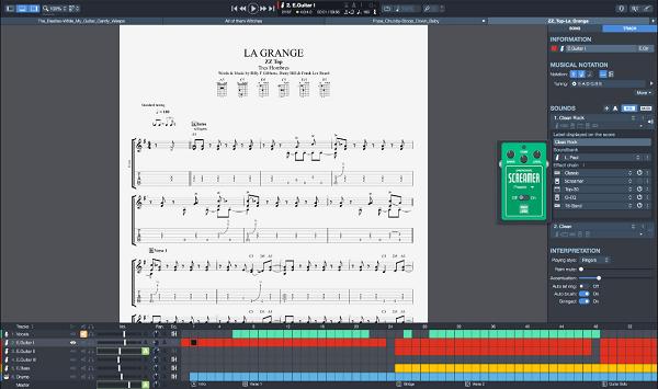 Test du logiciel Guitar Pro 7