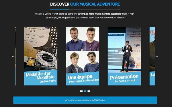 MyMusicTeacher, une application pour débutants et expérimentés