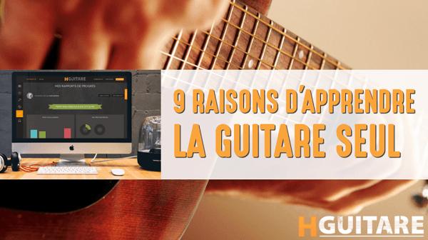 Apprendre la guitare seul avec HGuitare