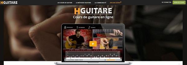 Hguitare : apprendre la guitare en ligne