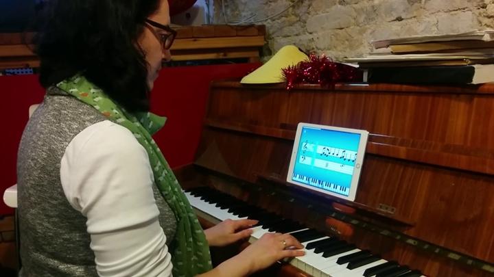 apprendre piano avec application simply piano