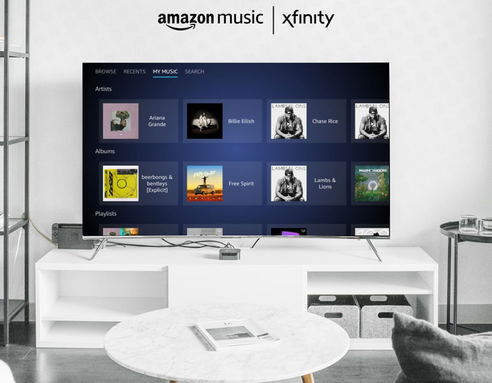 fonctions amazon music