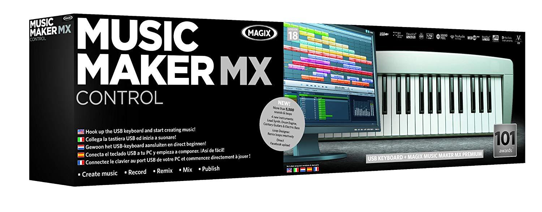 logiciel magix music maker avec clavier