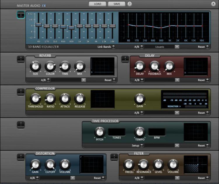 magix music maker master audio