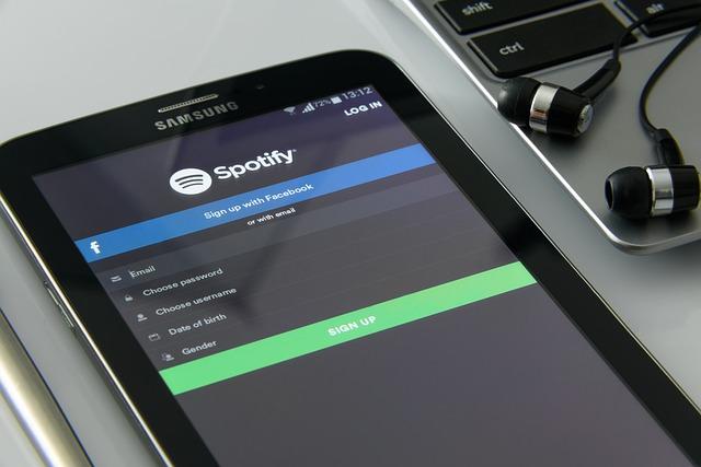 musique sur smartphone spotify