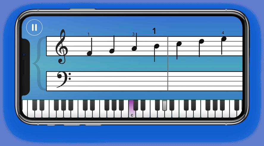 simply piano en mode play