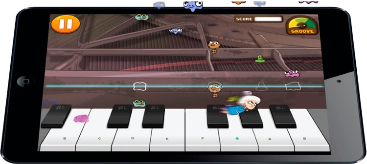 simply piano sur iphone