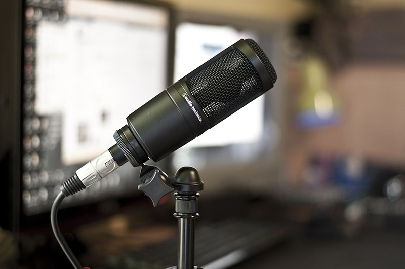audio technica at2020 micros enregistrement