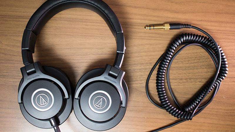 audio technica ath m40x casque home studio avis