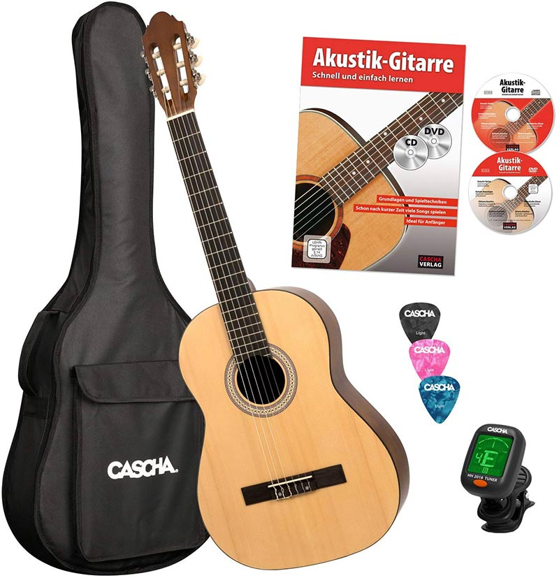 cascha hh 2043 fr guitare classique 4 4 bundle avis