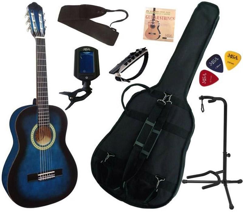 pack guitare classique msa 3 4 enfant 7 accessoires avis