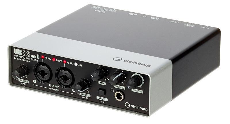 steinberg ur22 mk2 interface audio avis
