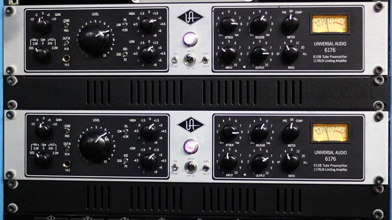 universal audio 6176 preampli micro avis