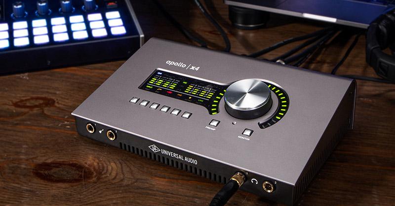 universal audio apollo x4 interface audio avis