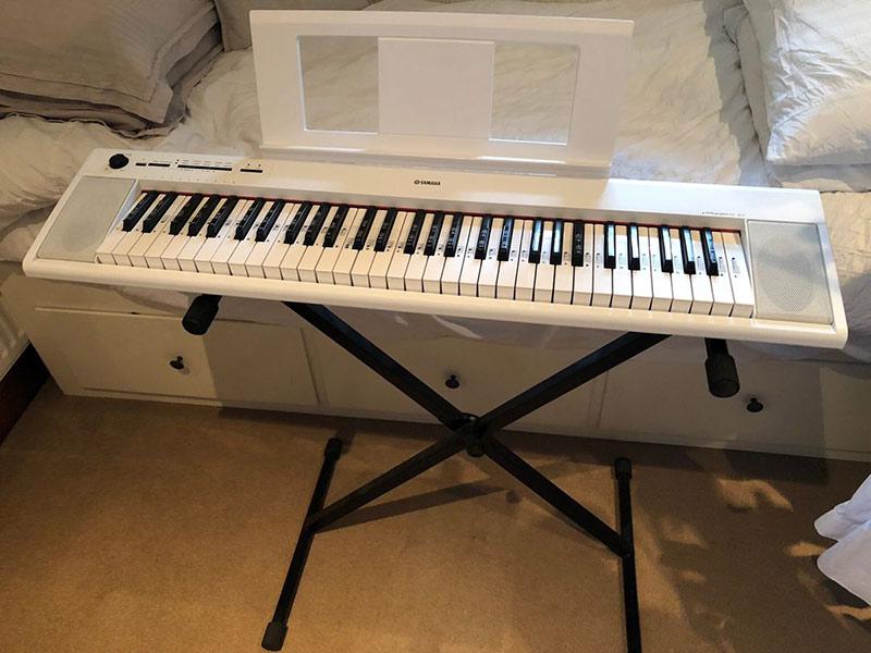 yamaha np12 wh piano numerique avis