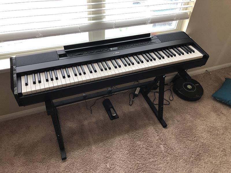 yamaha p 515 piano numerique avis